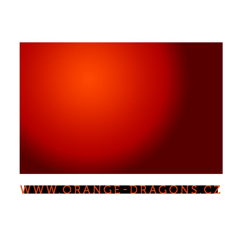 Orange-Dragons