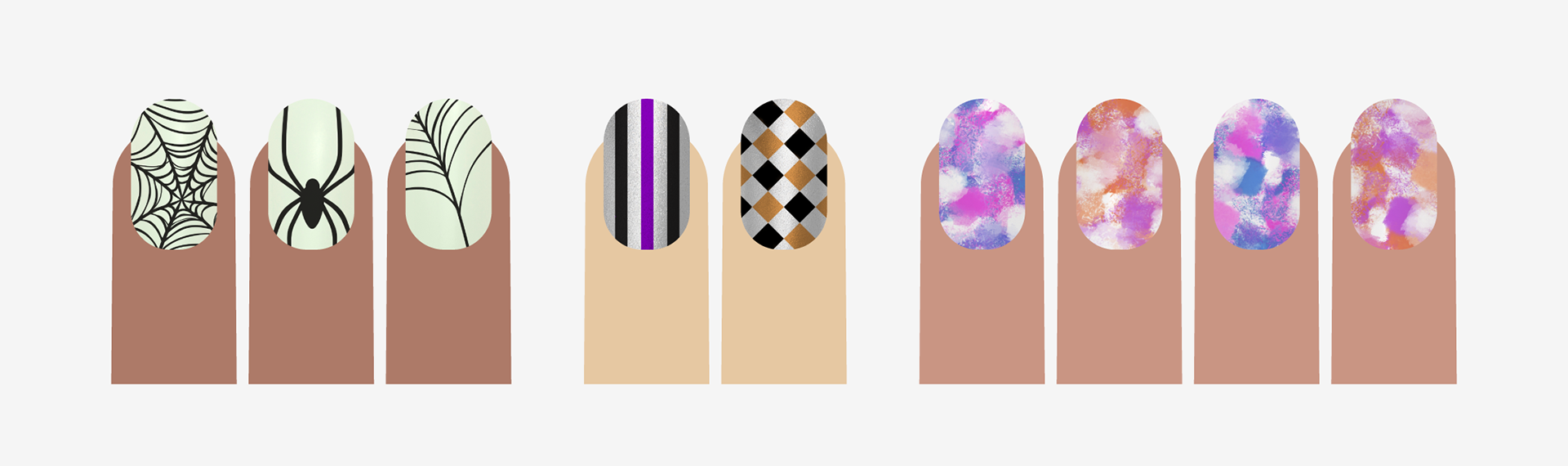 Lolax Nail Designs For Incoco Products