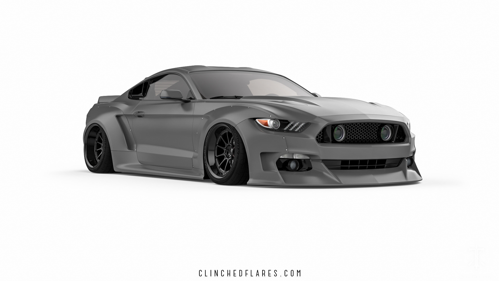 Kasim Tlibekov Tlibekua Ford Mustang Clinched Black