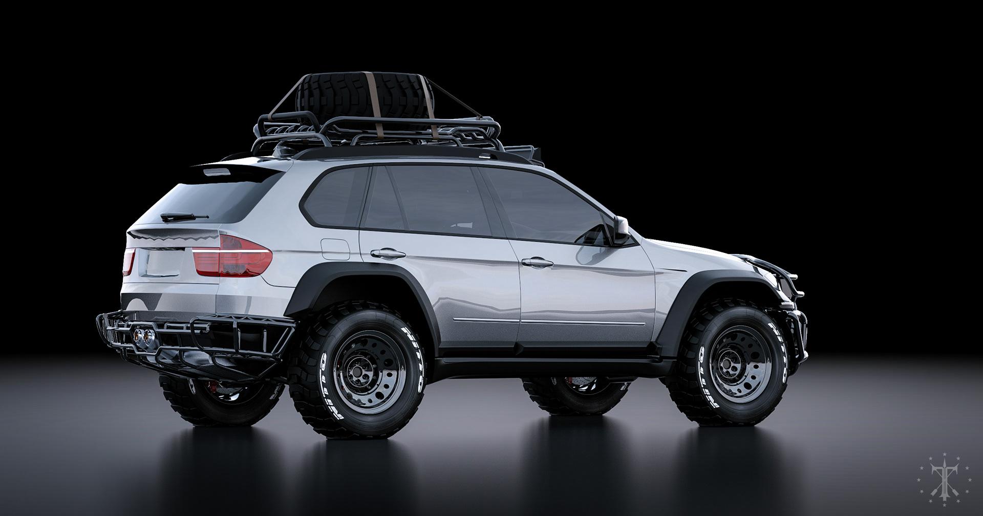All Terrain Tires >> Kasim Tlibekov. Tlibekua - BMW X5 Offroad