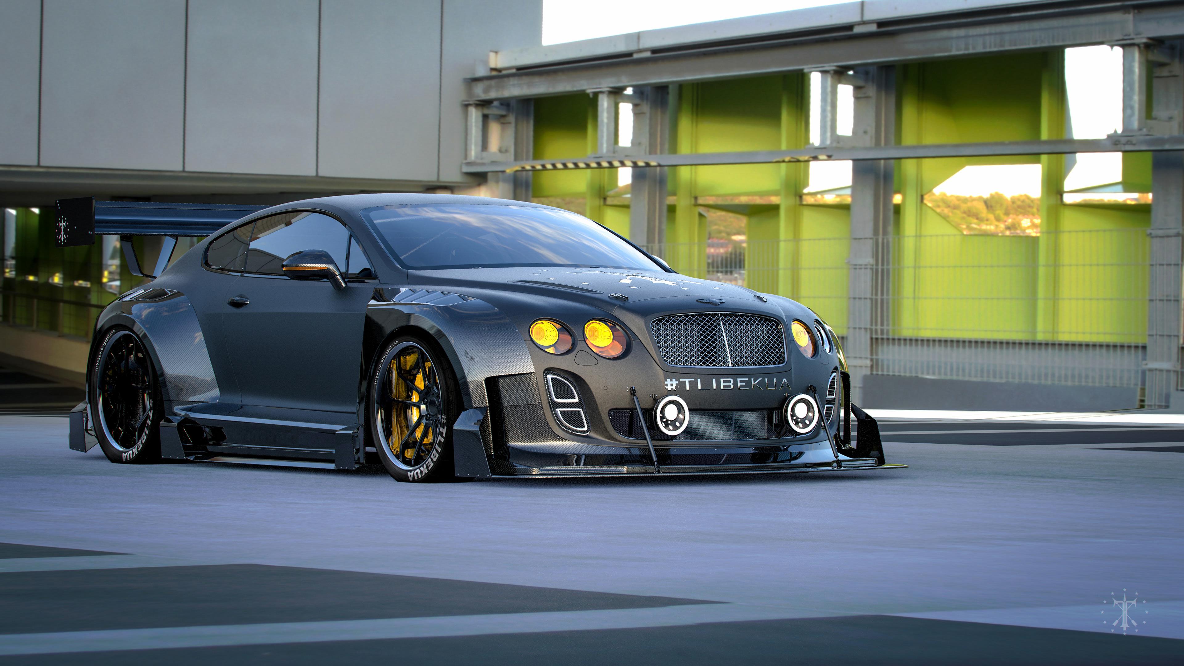 Kasim Tlibekov Tlibekua Bentley Continental Race kit
