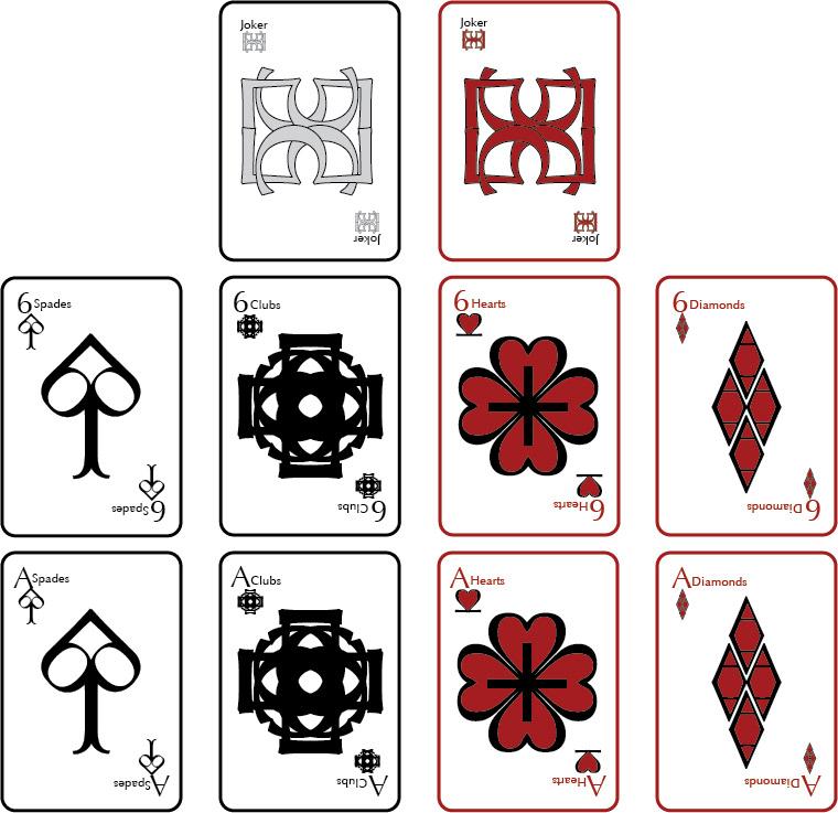 Michael Lemma Playing Cards