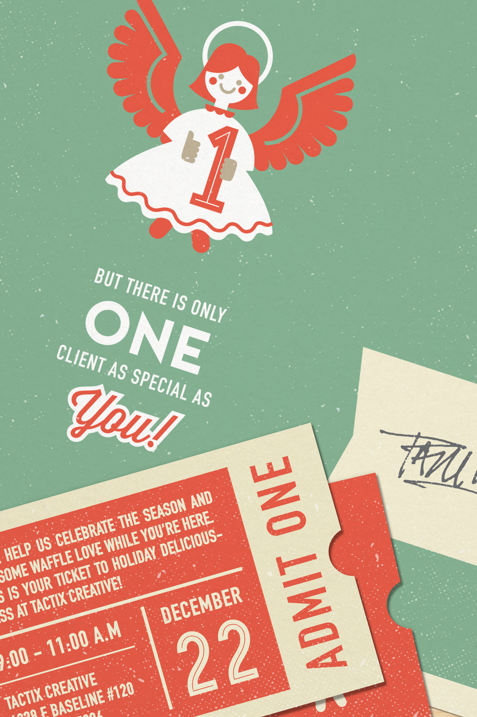 Paul howalt tactix creative holiday card reading these holiday fact oids accompanying the graphic icons seemed like a fun way to differentiate our companys card from the multitude of other holiday kristyandbryce Choice Image