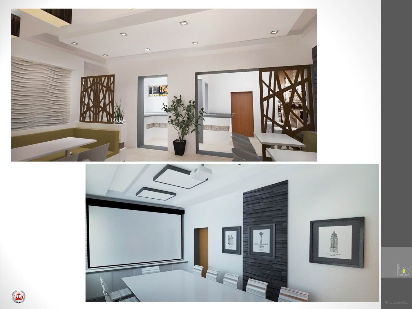 bizarreka architecture proposed interior design for brunei hall in
