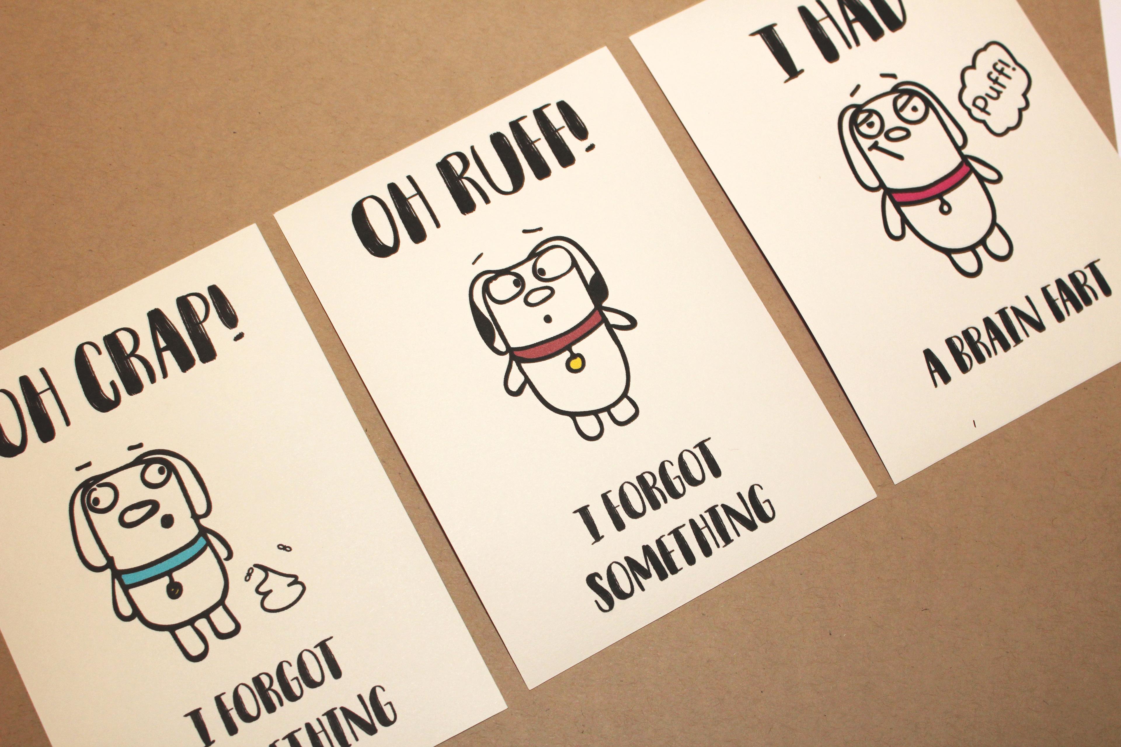 Ryan Kaminski Dog House Greeting Cards