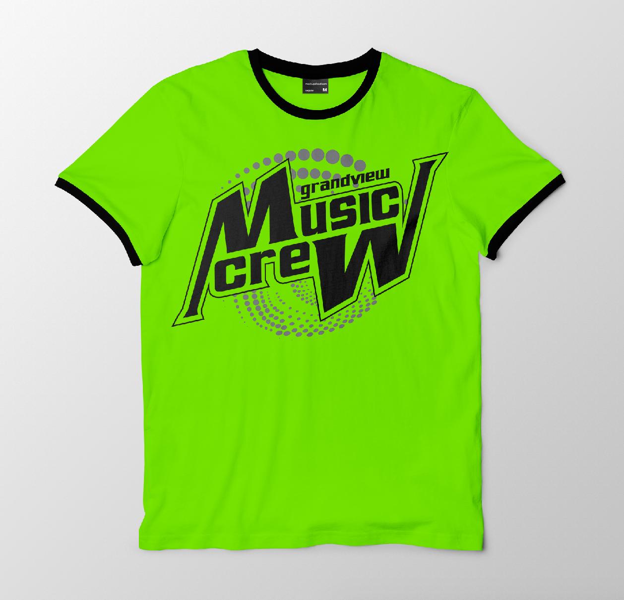 Greg Heckler Grandview Ms Music Dept T Shirt Design