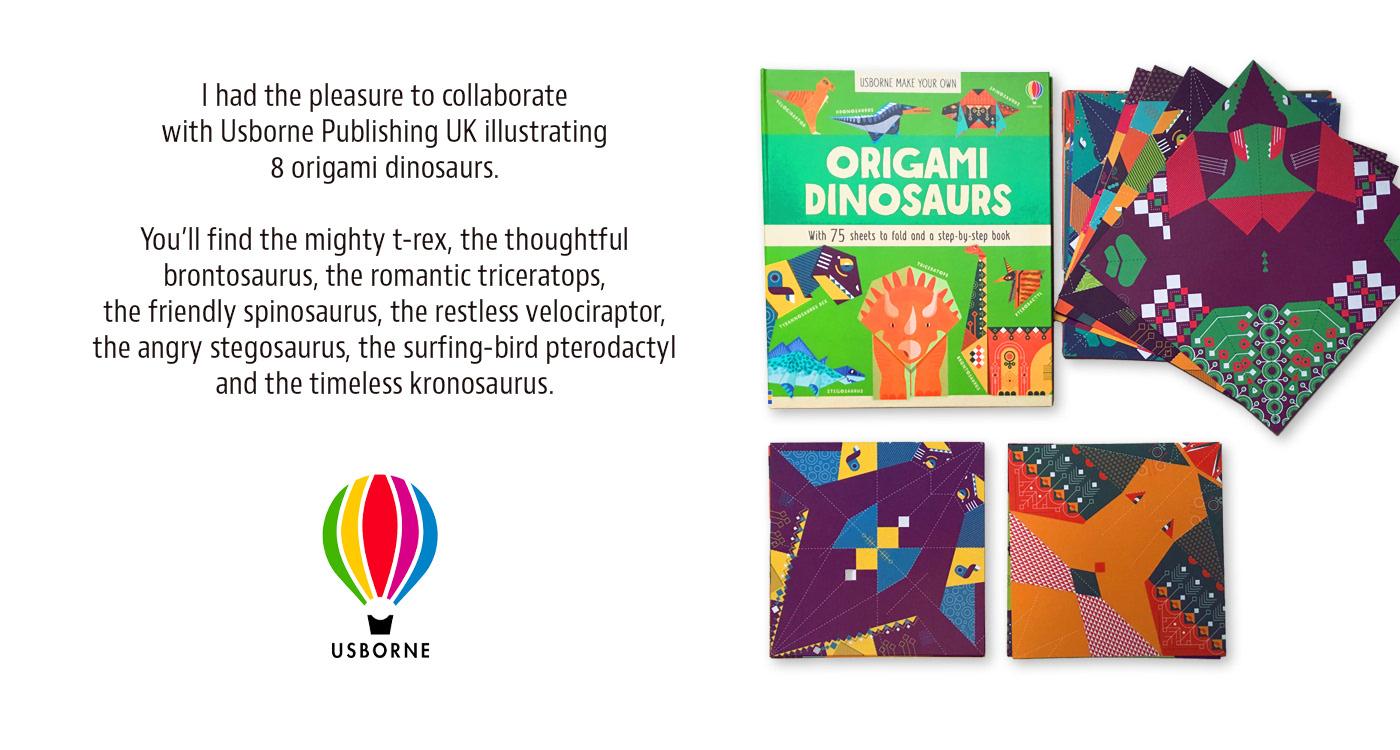 Amazing Origami Dinosaurs - Lerner Publishing Group | 750x1400