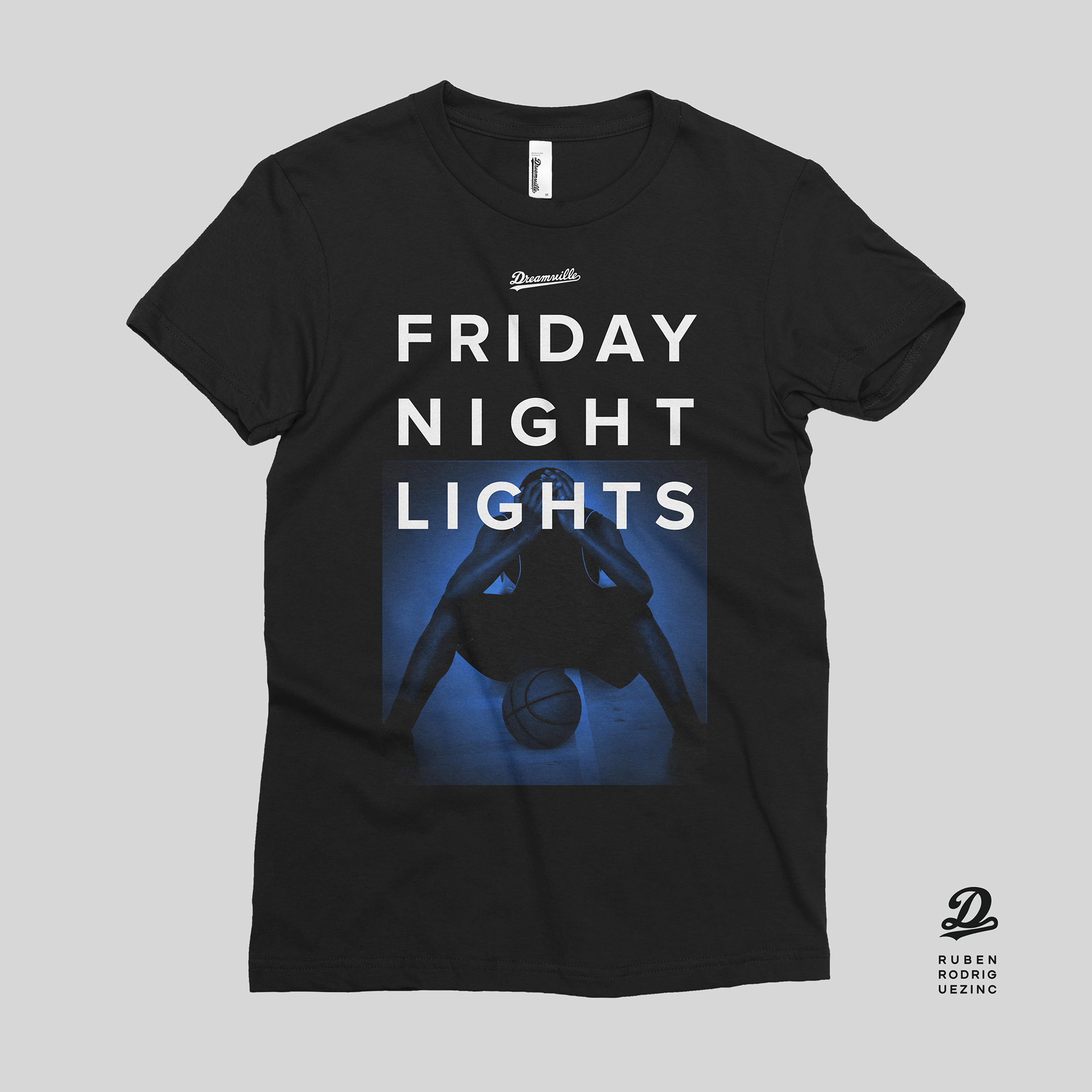 Rubenrodriguezinc j cole dreamville dollar a dream tour 3 shirt for friday night lights front aloadofball Image collections