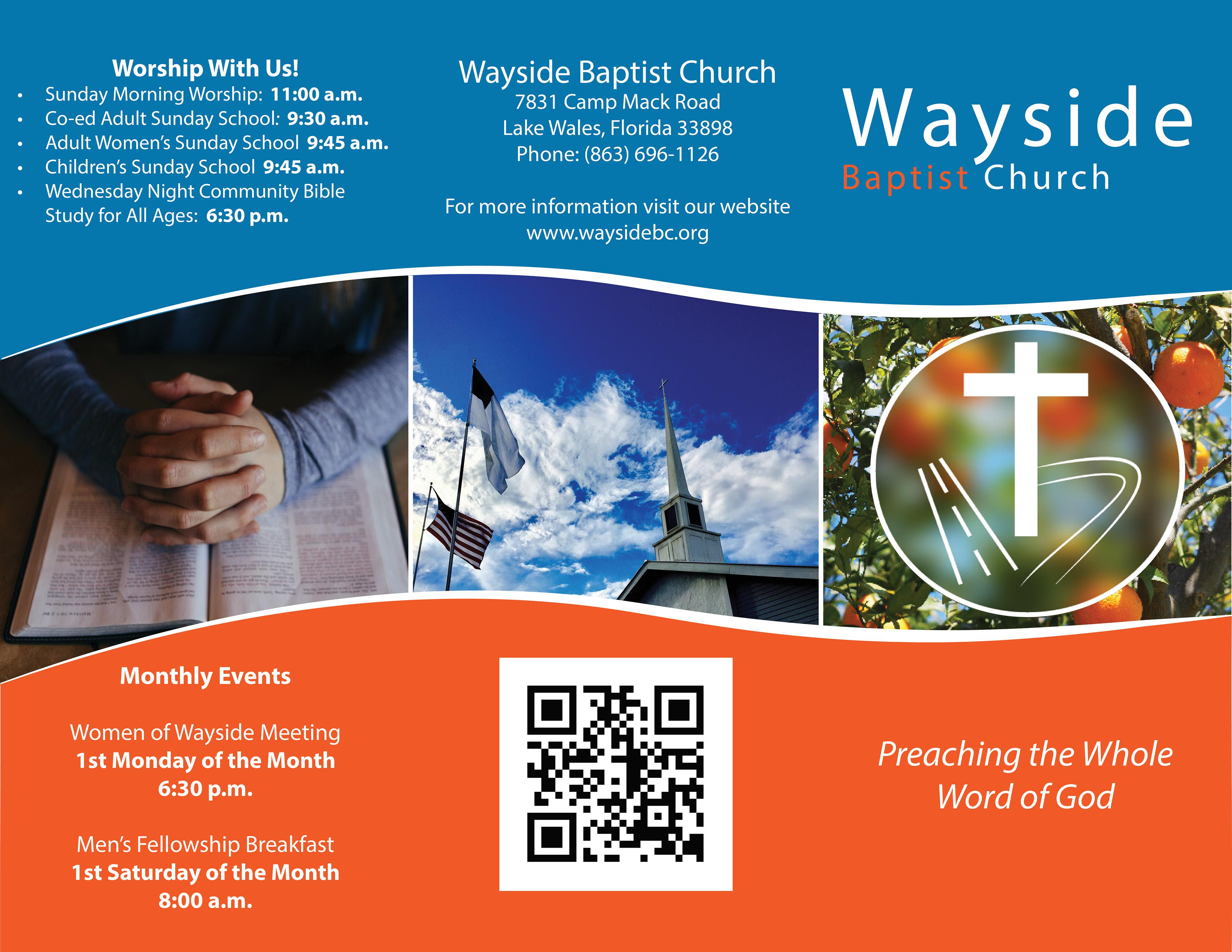 trelane schlenker church visitor brochure