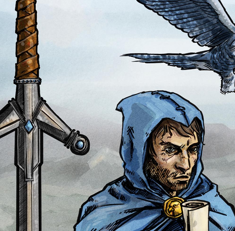 Eli Neugeboren - Knight of Swords