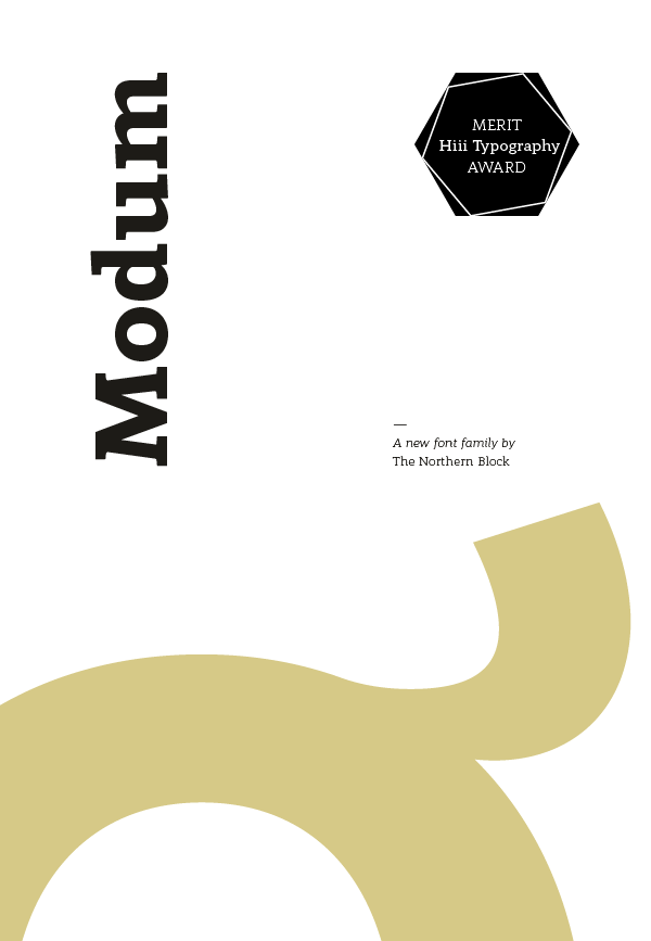 Jonathan Hill - Typeface Designer - Modum - Type Family