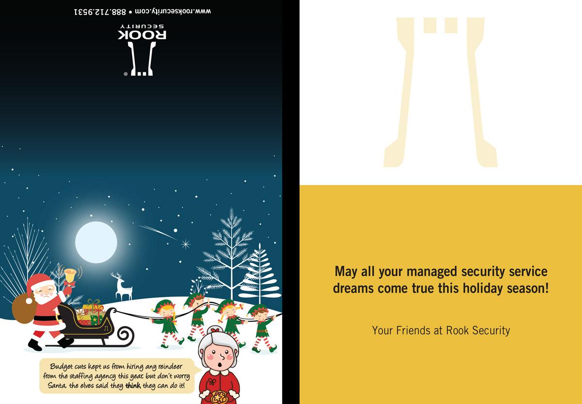 Doug Kuhn - Graphic Design Portfolio - Fun Christmas Card for ...