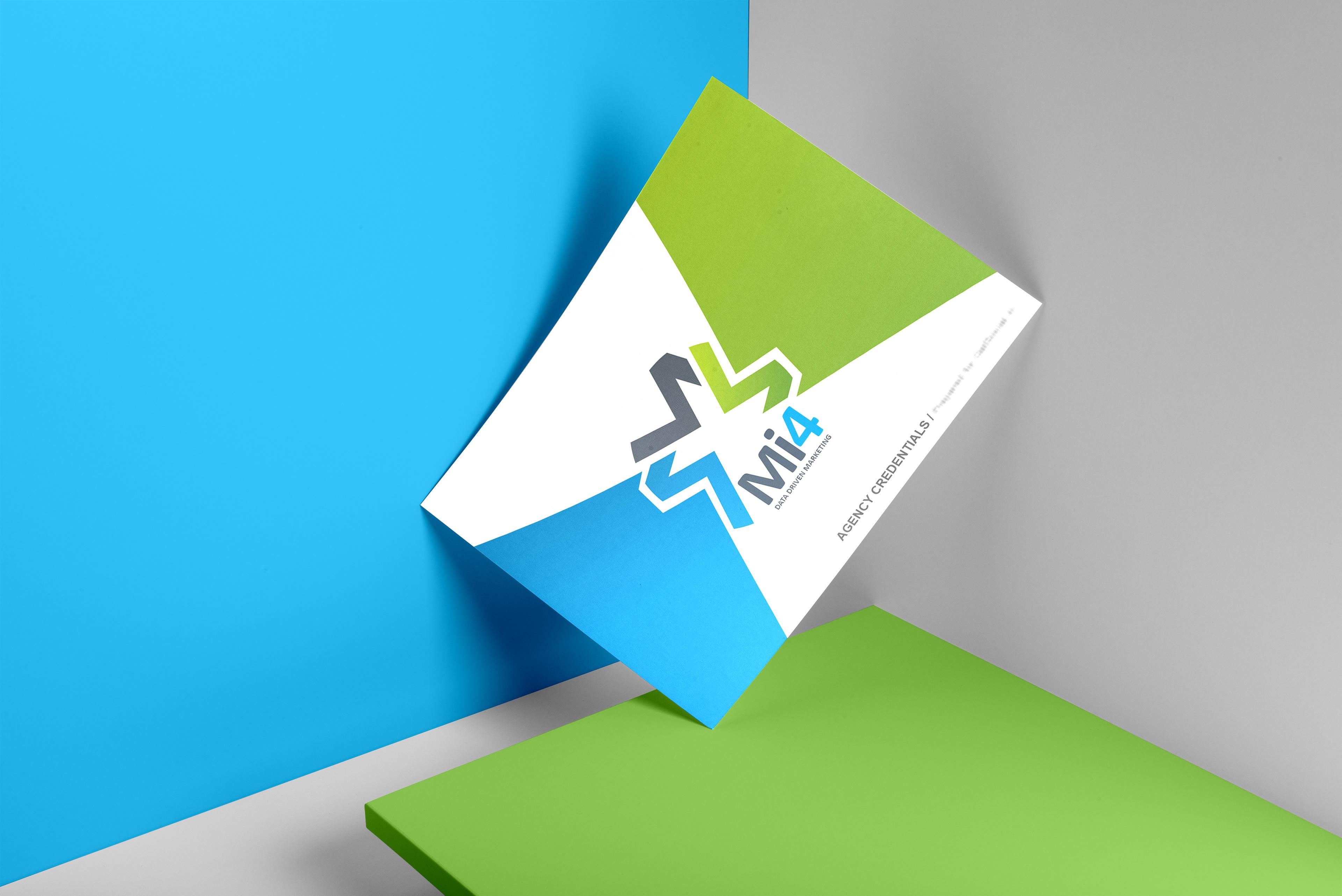 editable presentation template design mi4 france
