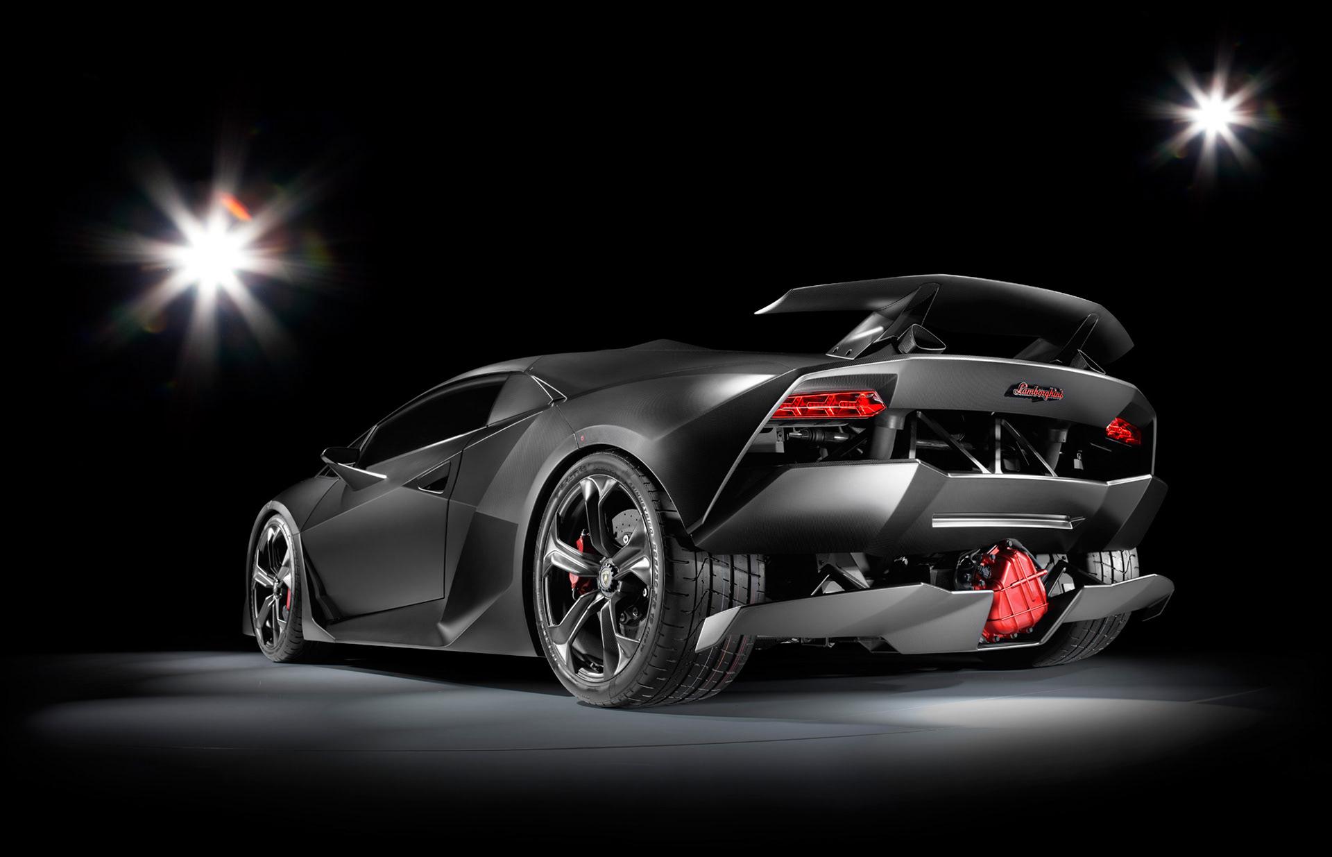 William Crozes Stills Motion Lamborghini Sesto Elemento Concept