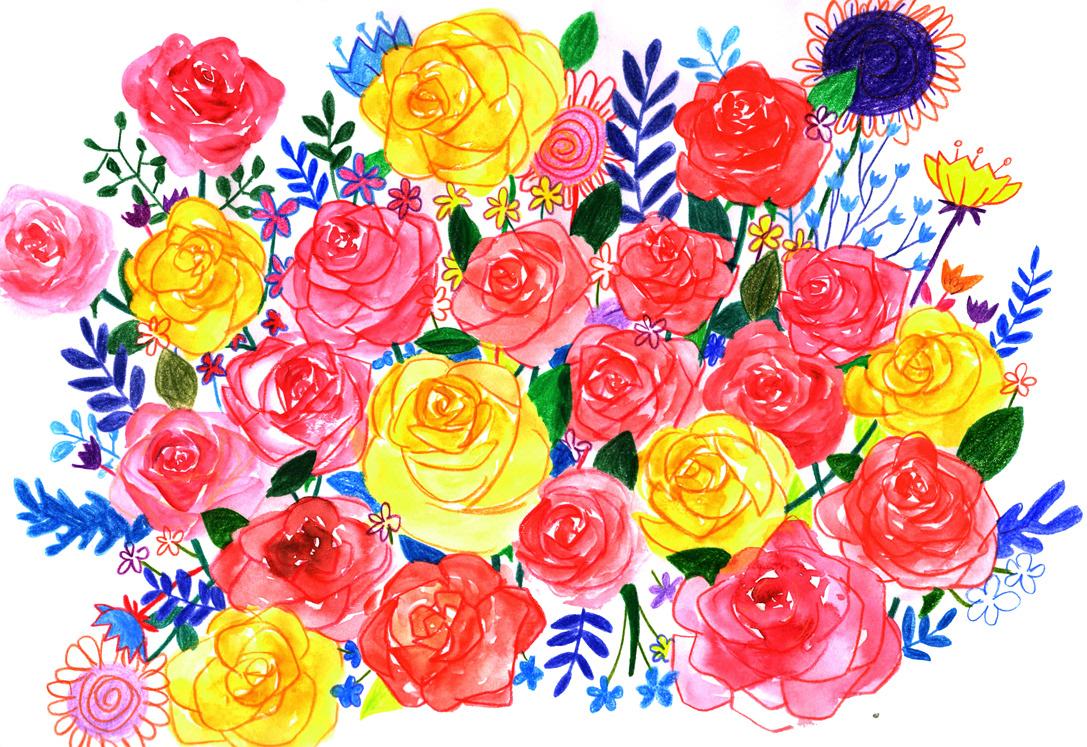eunji jung - Spring Flowers