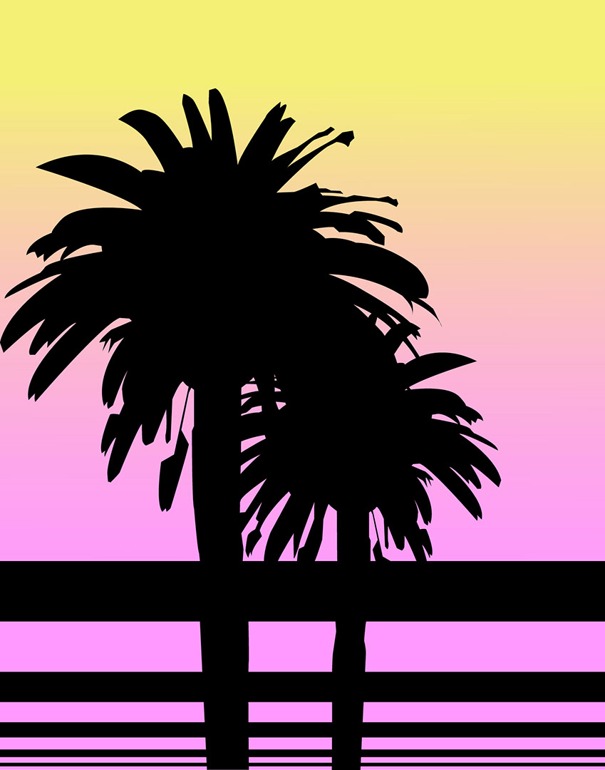 80s Palm Trees