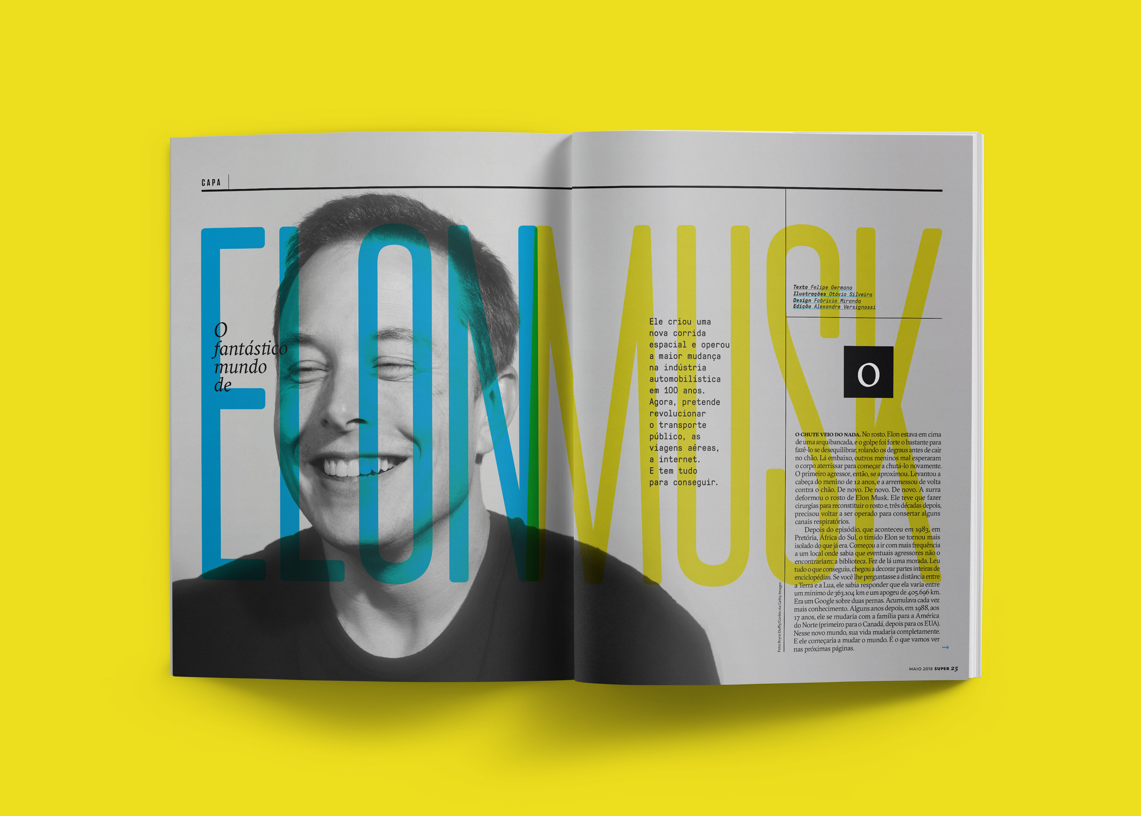 Fabricio Miranda - The Fantastic World of Elon Musk