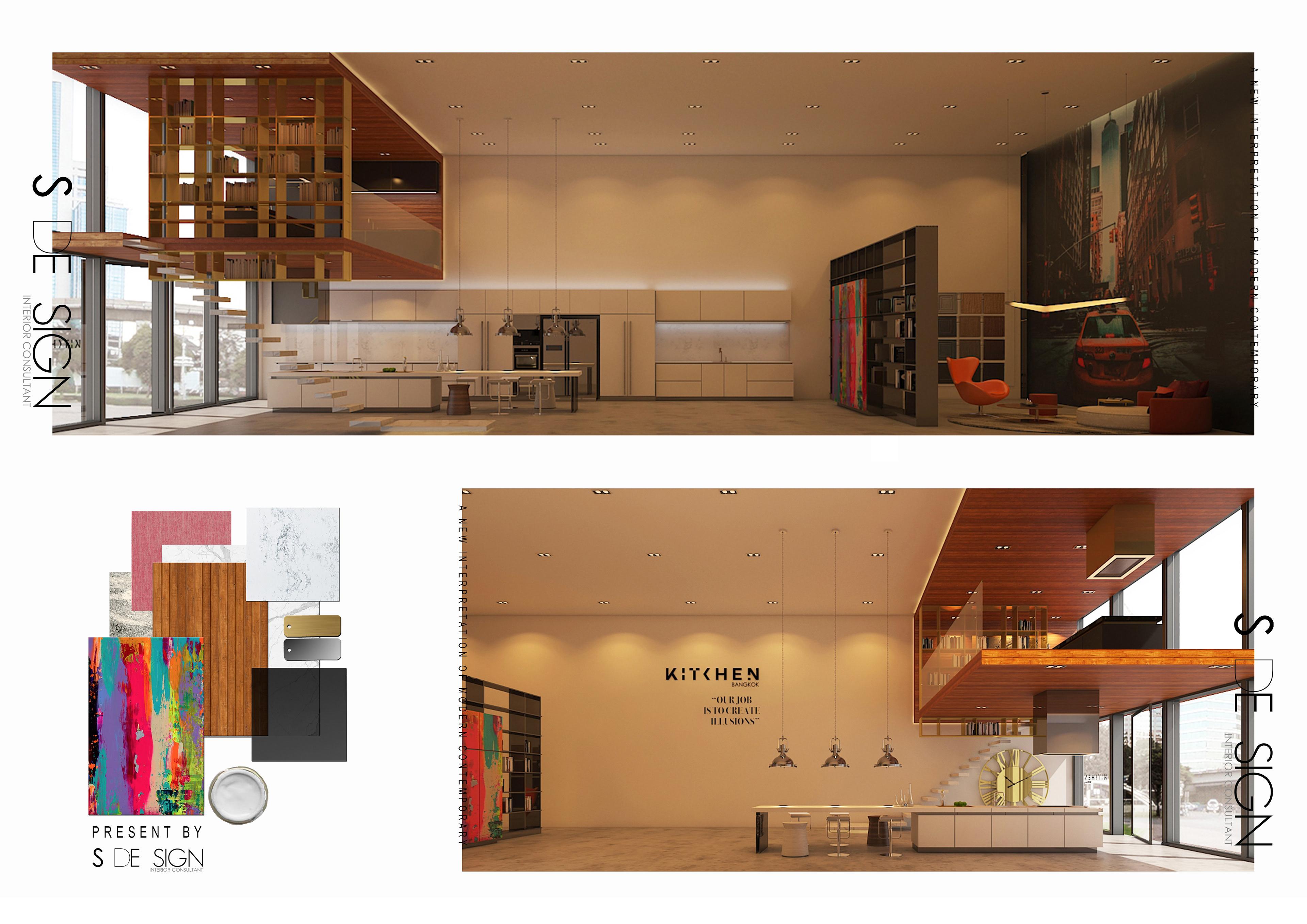 Tks Interior Design A New Interpretation Of Modern Contemporary
