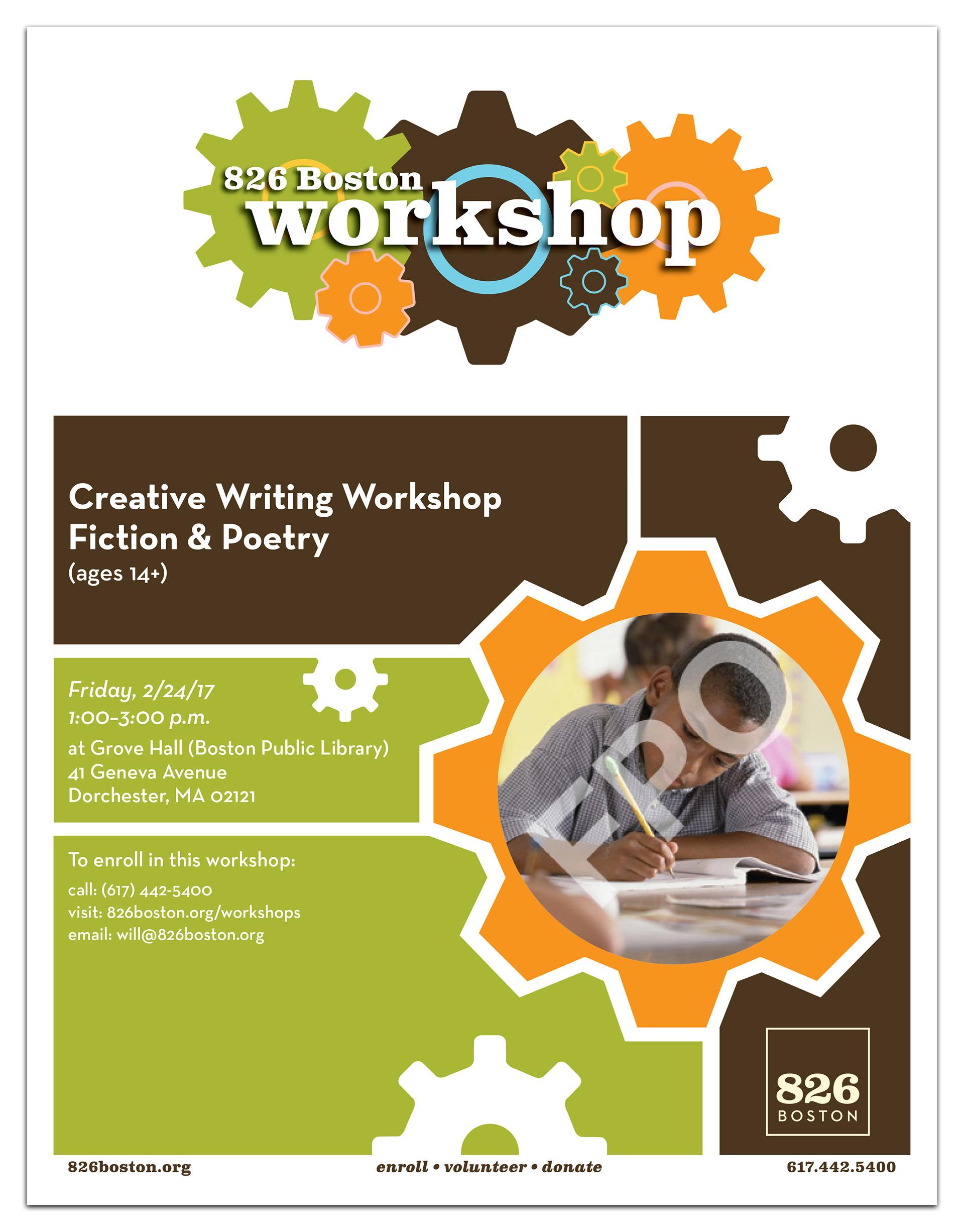 Shelley Makarski Custom Workshop Flyer Template