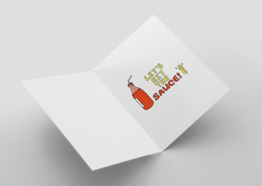 Into A Greeting Card Competition Held By The Online T Shirt Printing Company Threadless And Was Successfully Selected As Winner