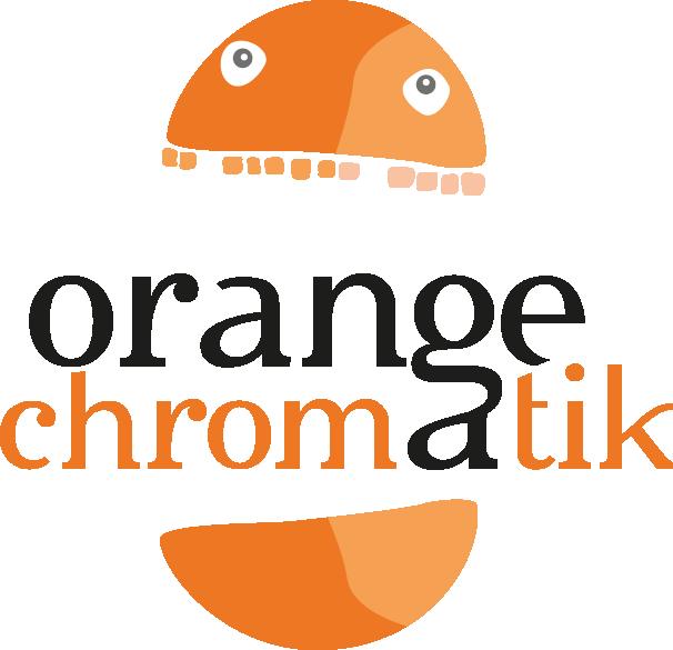 Orange Chromatik Design Graphique