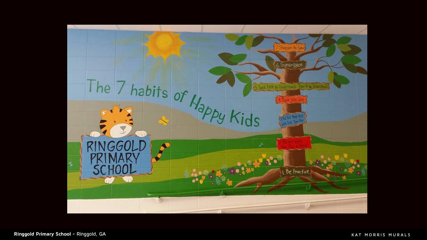 Kat Morris Murals Experienced Chattanooga Mural Painter School