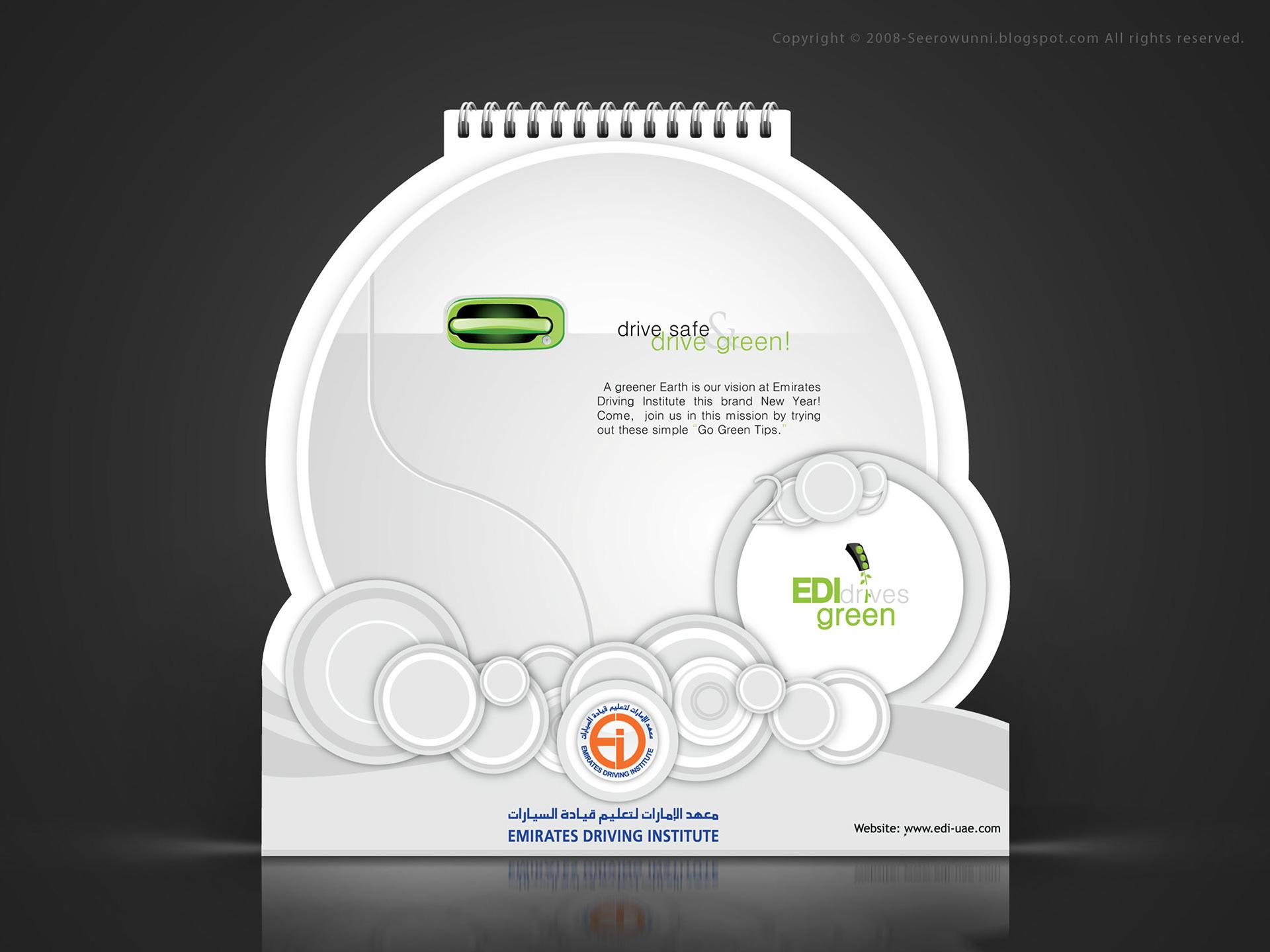 Seerow Unni Calendar Design