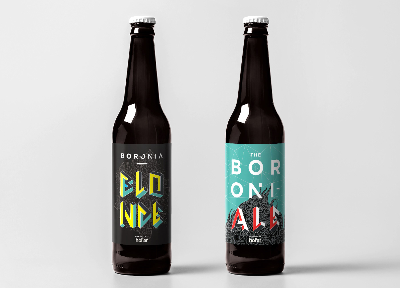 Antonny Sugianto Holler Craft Beer Labels