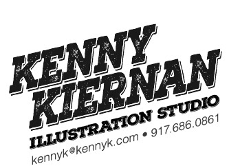 Kenny Kiernan Illustration Studio (917) 686-0861, kennyk@kennyk.com - character design, illustration art, digital illustration, graphic studio