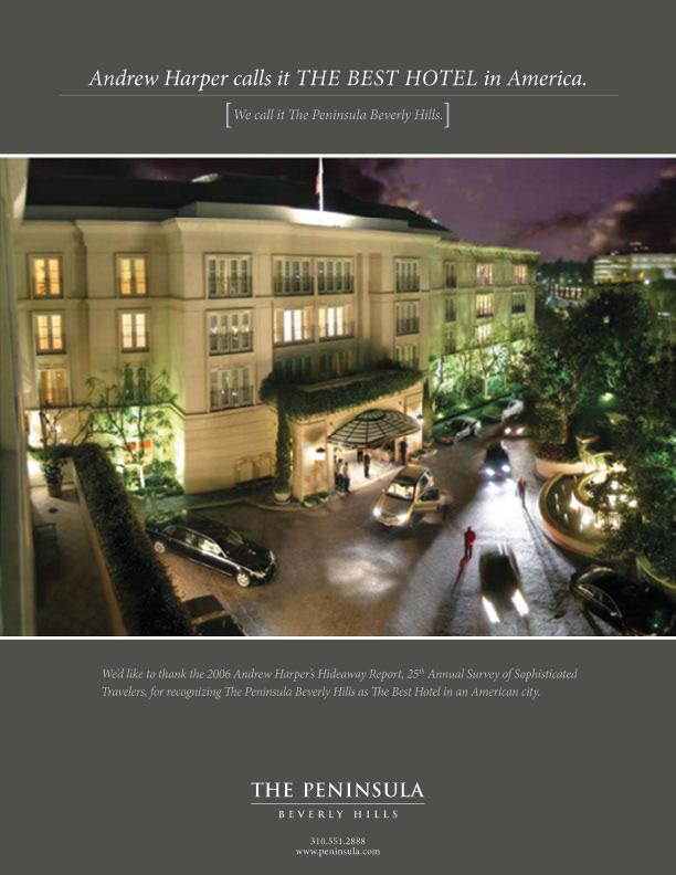 Dijana Skoblar The Peninsula Beverly Hills