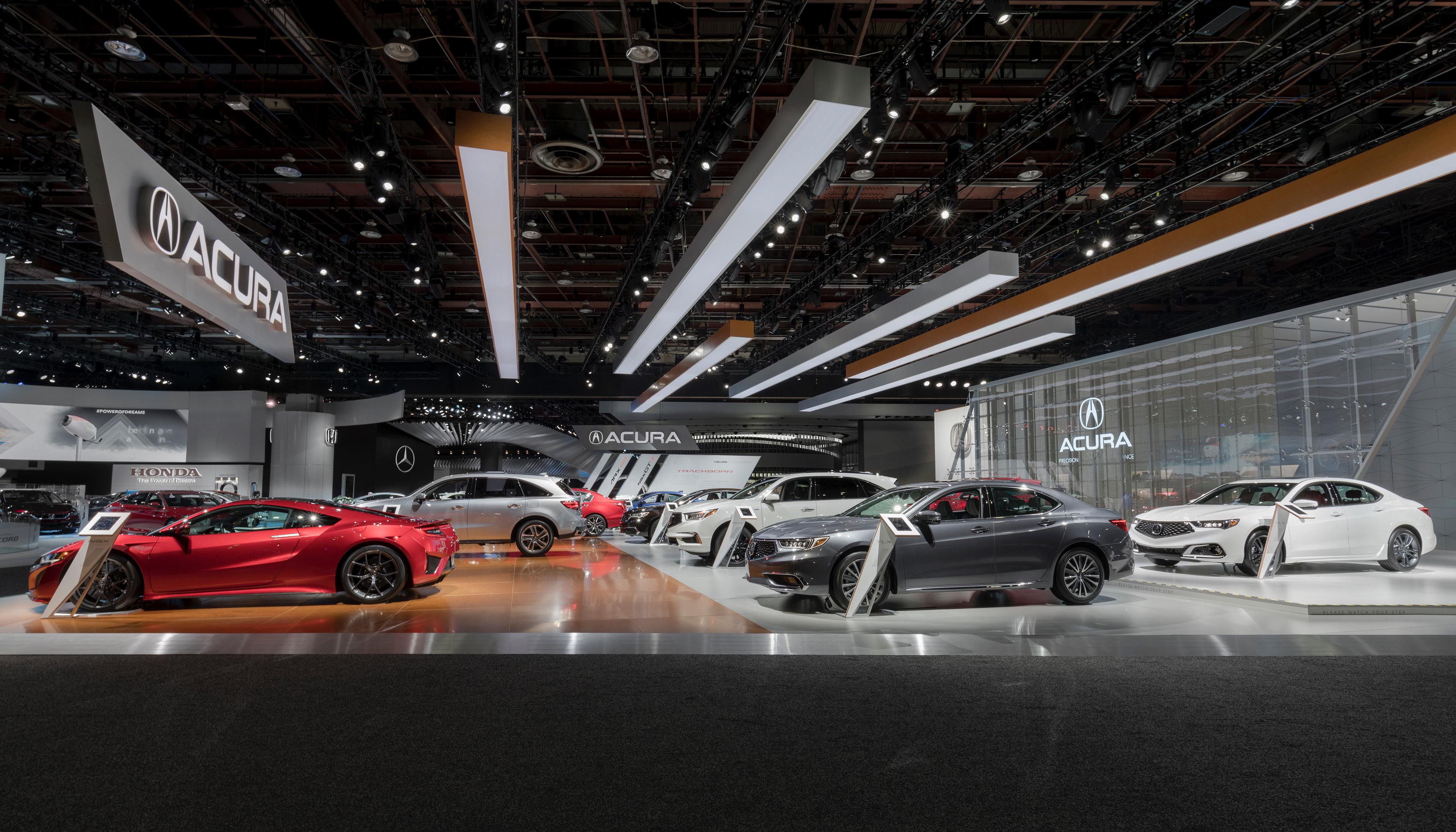Ploy Santatiwat Acura Detroit Auto Show 2018