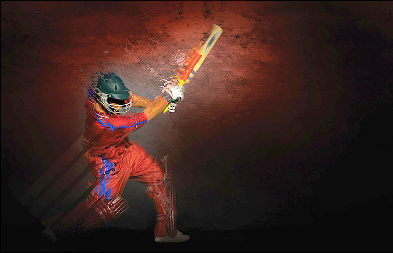 Blackie Design - Cricket Club graphics