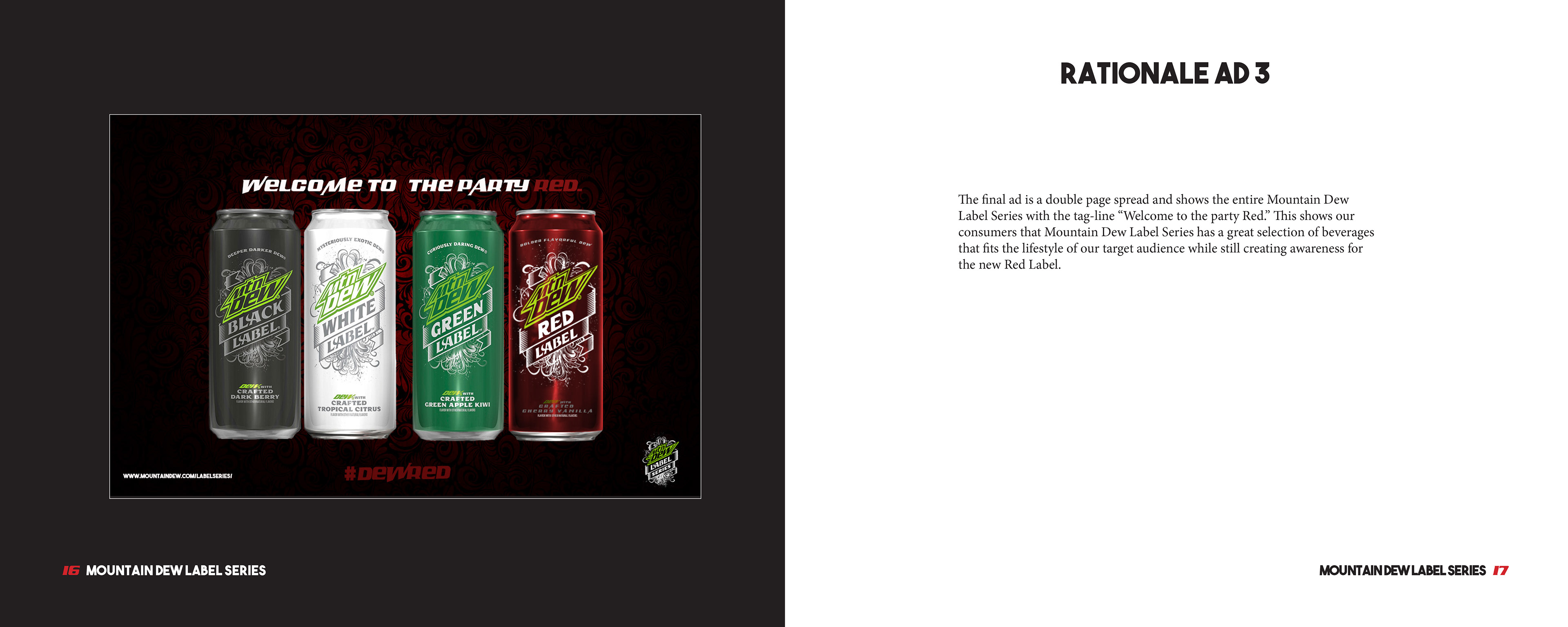 daniel walker creative mountain dew red label advertising campaign