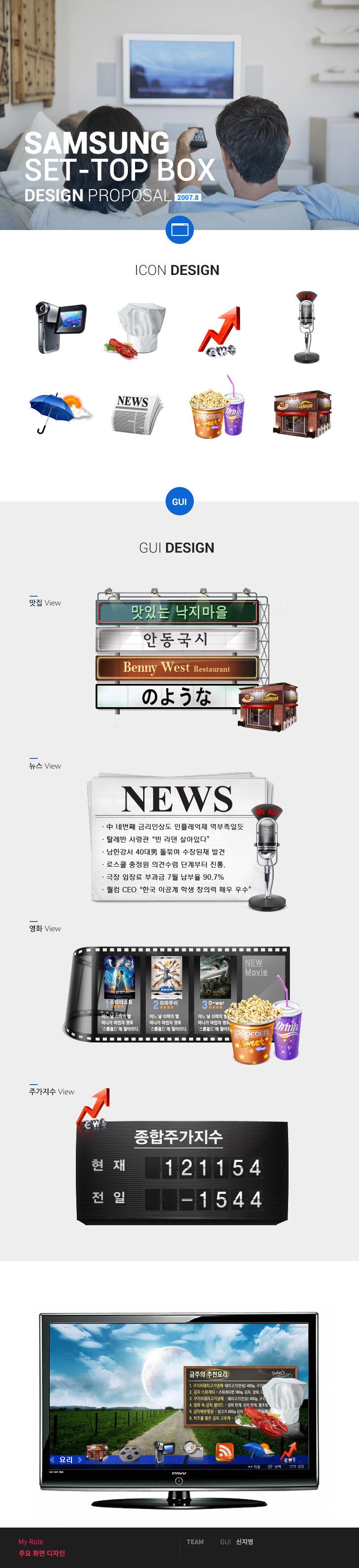 DesignerKang - Samsung Set-top box