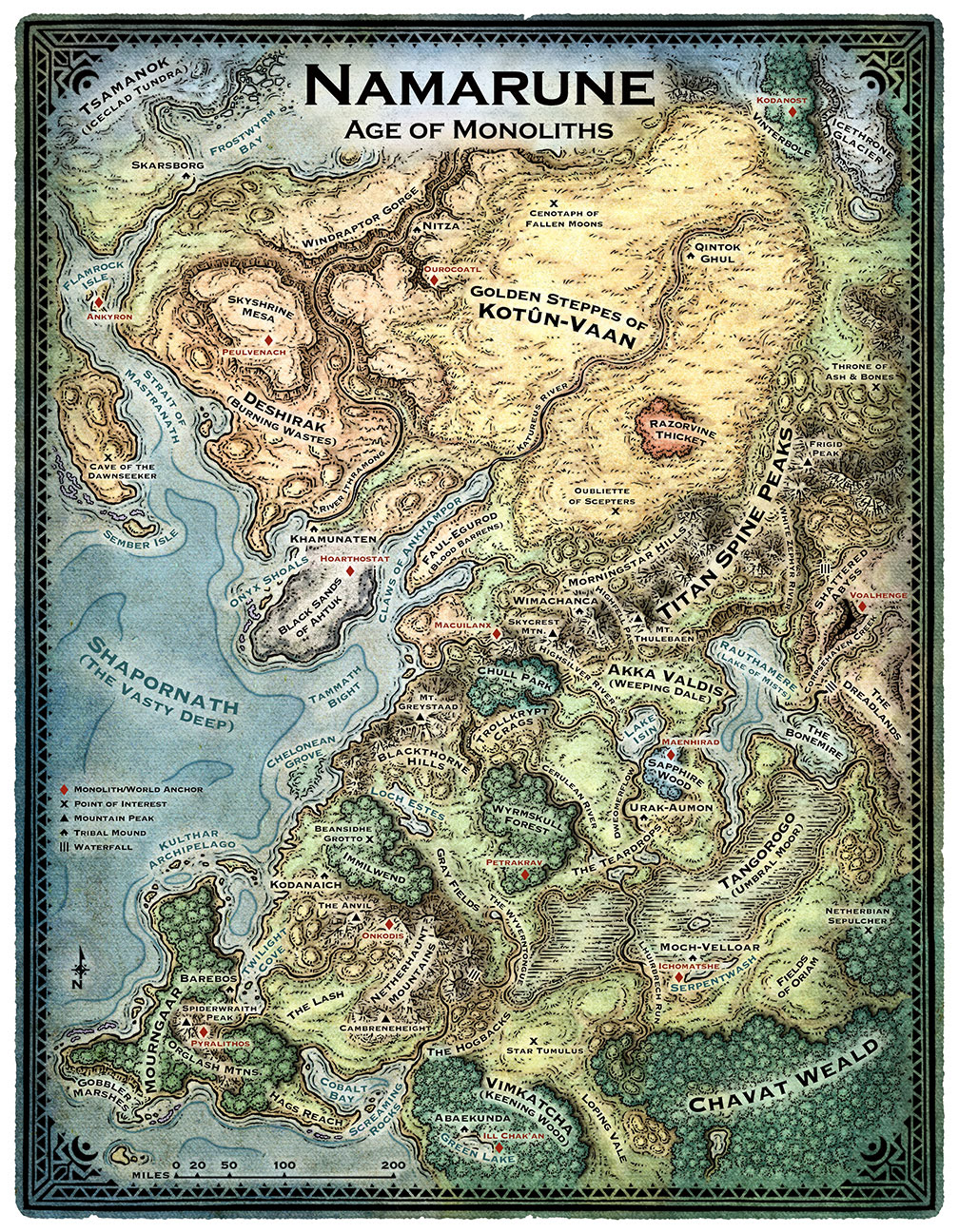 Mike Schley's Portfolio - World & Regional Maps