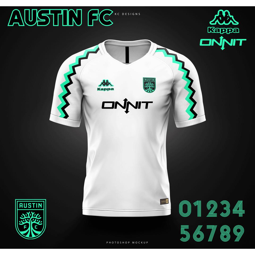 best service ad6d6 6bc59 Kevin Rask - MLS AUSTIN FC // ONNIT // KAPPA