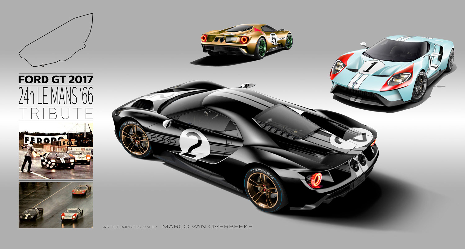 Ford Gt Tribute Liveries  Years Ago The Gt Wrote History