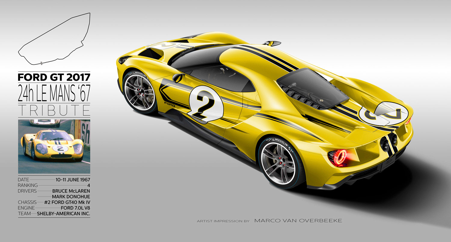 In December  Greenlight Is Going To Bring These Liveries To Life With Their New Ford Gt Racing Heritage Series I