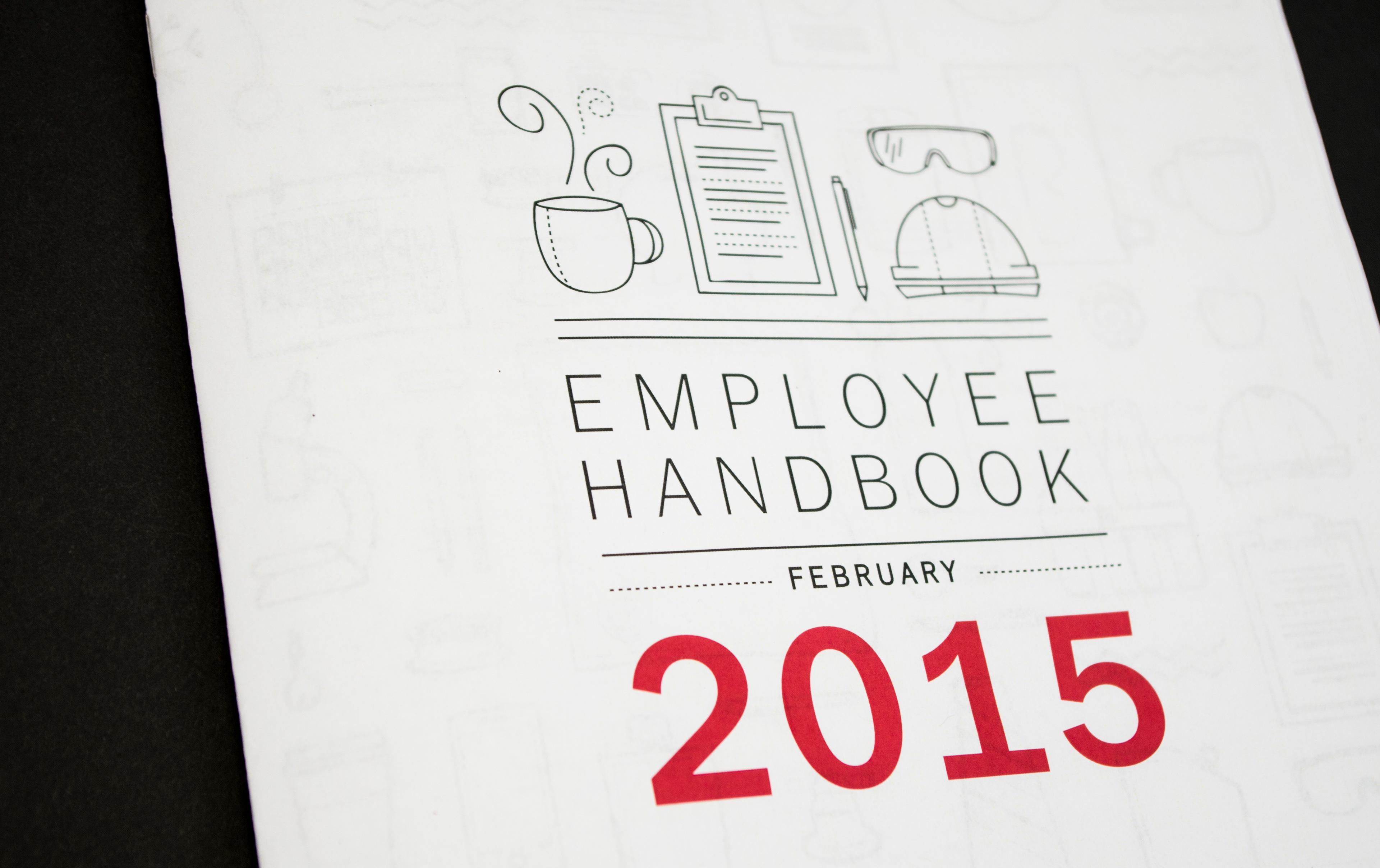 Emily Becker Scholle Employee Handbook - Employee handbook design