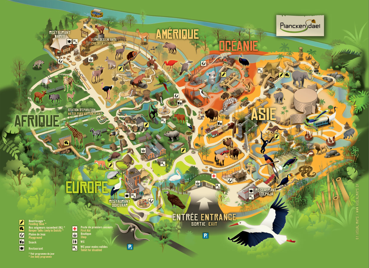 Visual Maps Planckendael Zoo