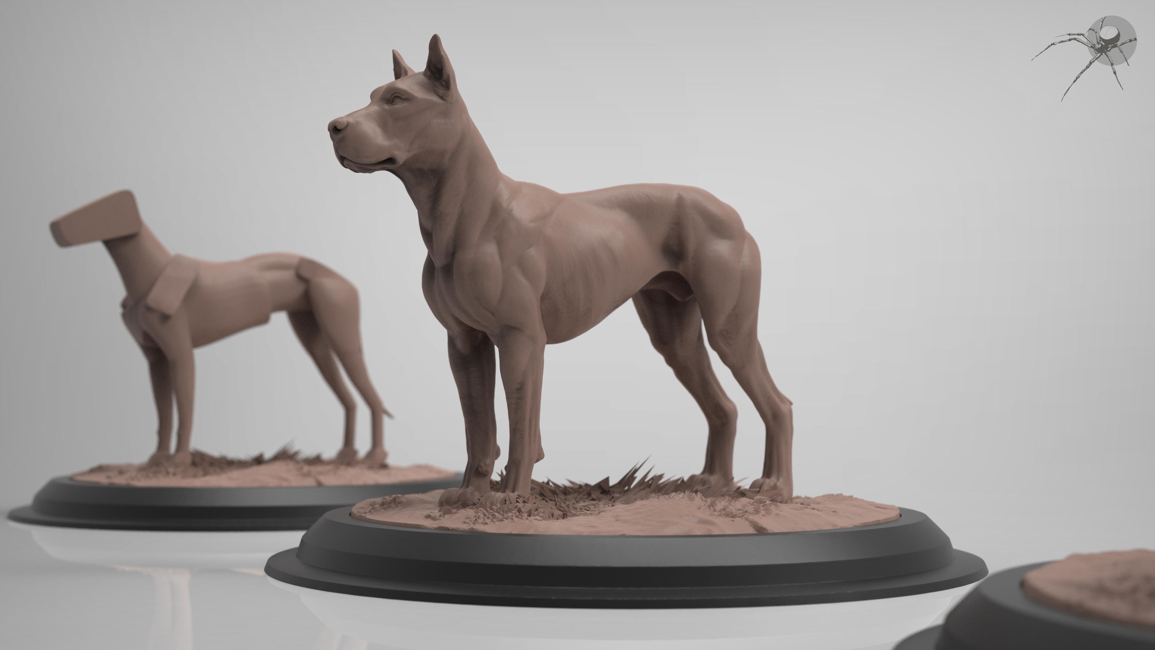 Marcus Trolldenier - Concept Sculptor // CG Artist - canine anatomy ...