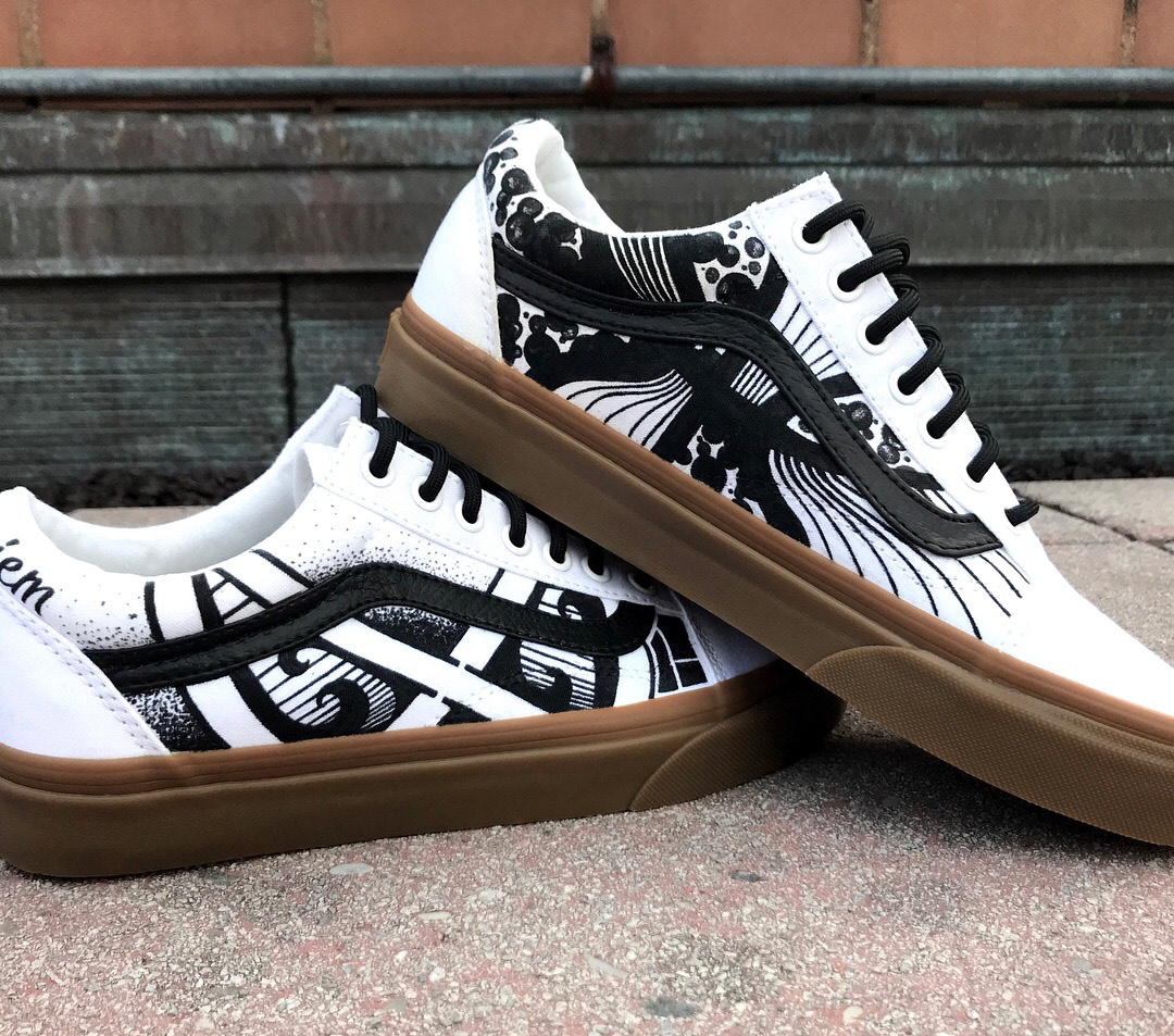 The Women's Vans Galactic Goddess Pack Is Covered In