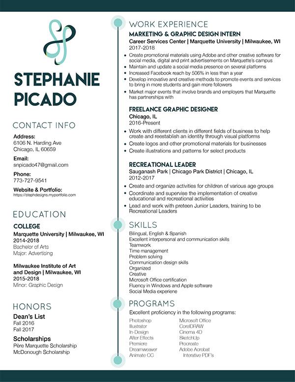 Stephanie Picado - Resume