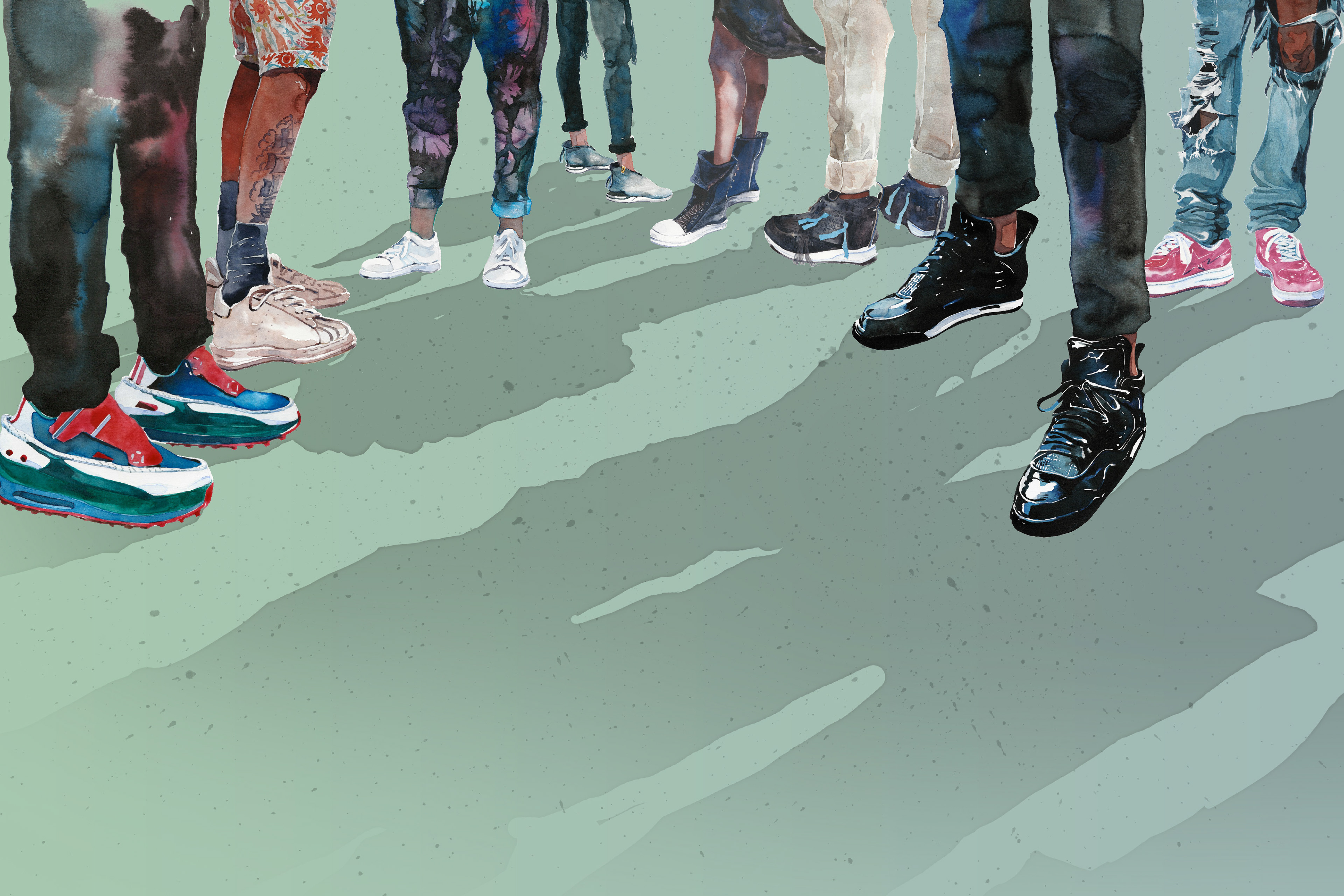 78a8f804d5c88b Yiche Feng - Highsnobiety  2016 S S Best Sneakers Illustrated