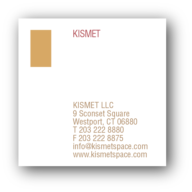 Suki frisch business cards unusual square business card for a retail store embossed with gold foil and printed with metallic ink on a classic heavy white card stock reheart Gallery