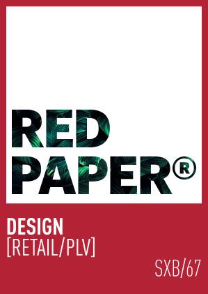 RED PAPER® DESIGN GRAPHIQUE RETAIL PLV