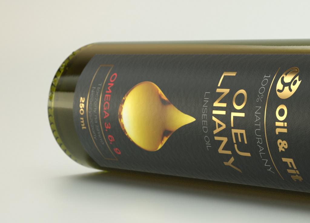Tomasz Lechocinski TStudio - Oil & Fit bottle design