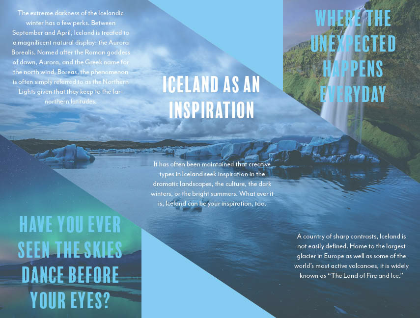 sam stoat travel brochure iceland