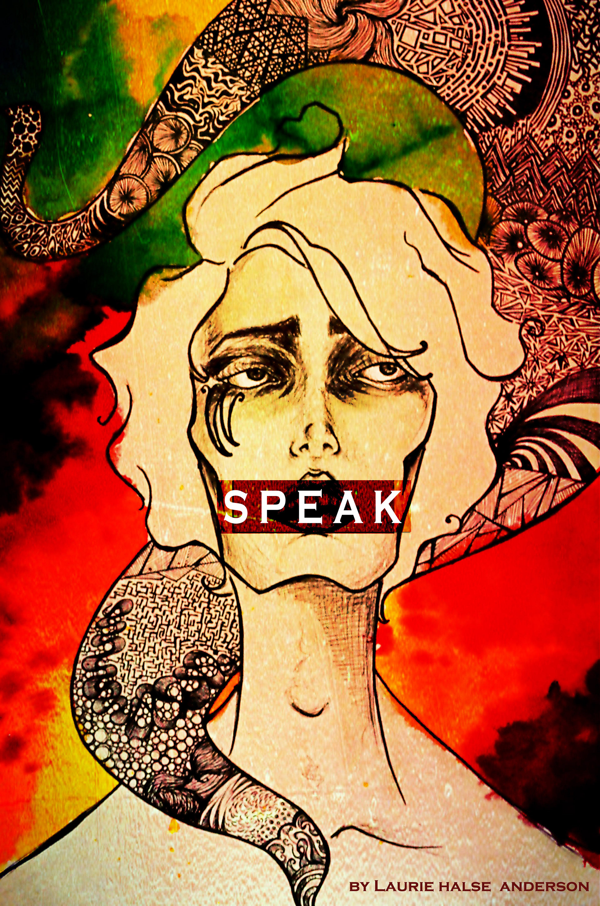 speak laurie halse anderson reflection through art Why won't melinda just talk about what happened speak and the confessional voice laurie halse anderson's 2000 novel speak is most often through art.