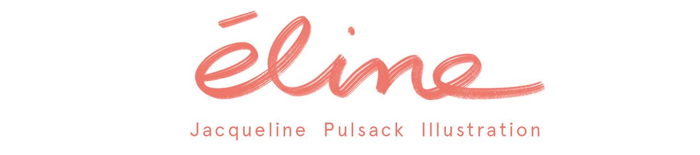 ÉLINE - Jacqueline Pulsack Illustration